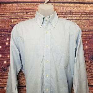 BROOK BROTHERS SHIRT SIZE 16-34 BLUE